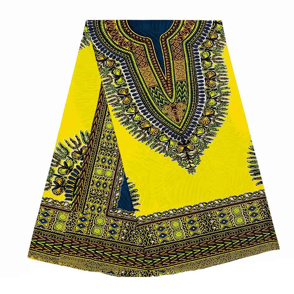 Traditional African Dashiki  Kitenge Wax Print Above Knee Cocktail Party Dress
