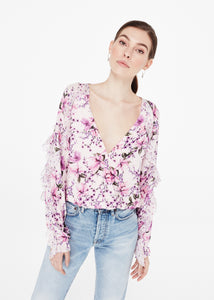 Cami NYC Eden Pink Blouse