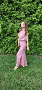 Kate Jumpsuit In Raspberry