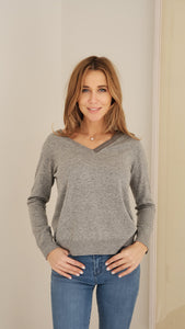 Fabiana Filippi Sweater in Grey