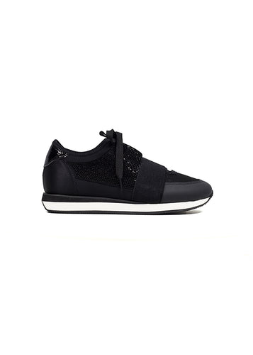 Lola Cruz Santa Rosa Sneakers in Black