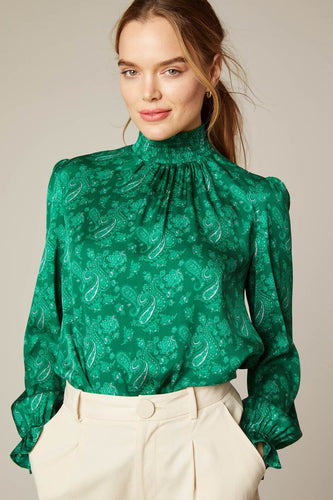 Tucker Stella Top in Pining for Paisley