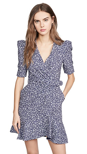 Jonathan Simkhai Evelyn Floral Crepe Dress