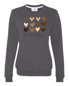 Broome County MLK Jr Commission Love Crewneck Sweatshirt