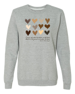 Load image into Gallery viewer, Broome County MLK Jr Commission Love Crewneck Sweatshirt