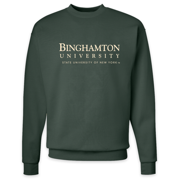 Bing U 50/50 sweatshirt in green!
