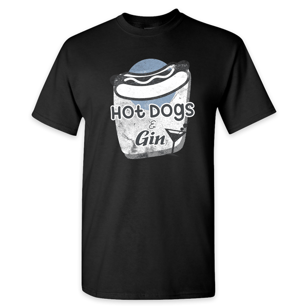 Hot Dogs & Gin tee shirts!