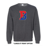 Load image into Gallery viewer, Binghamton High School Grey Patriots/ Proud Crew Neck Sweatshirt