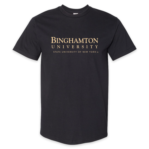 Bing U cotton tee in black!