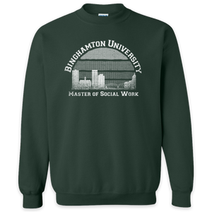 Binghamton University Master of Social Work Crewneck Pullover Sweatshirt