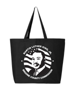 Load image into Gallery viewer, Broome MLK Jr Commission Logo Tote
