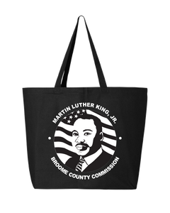 Broome MLK Jr Commission Logo Tote