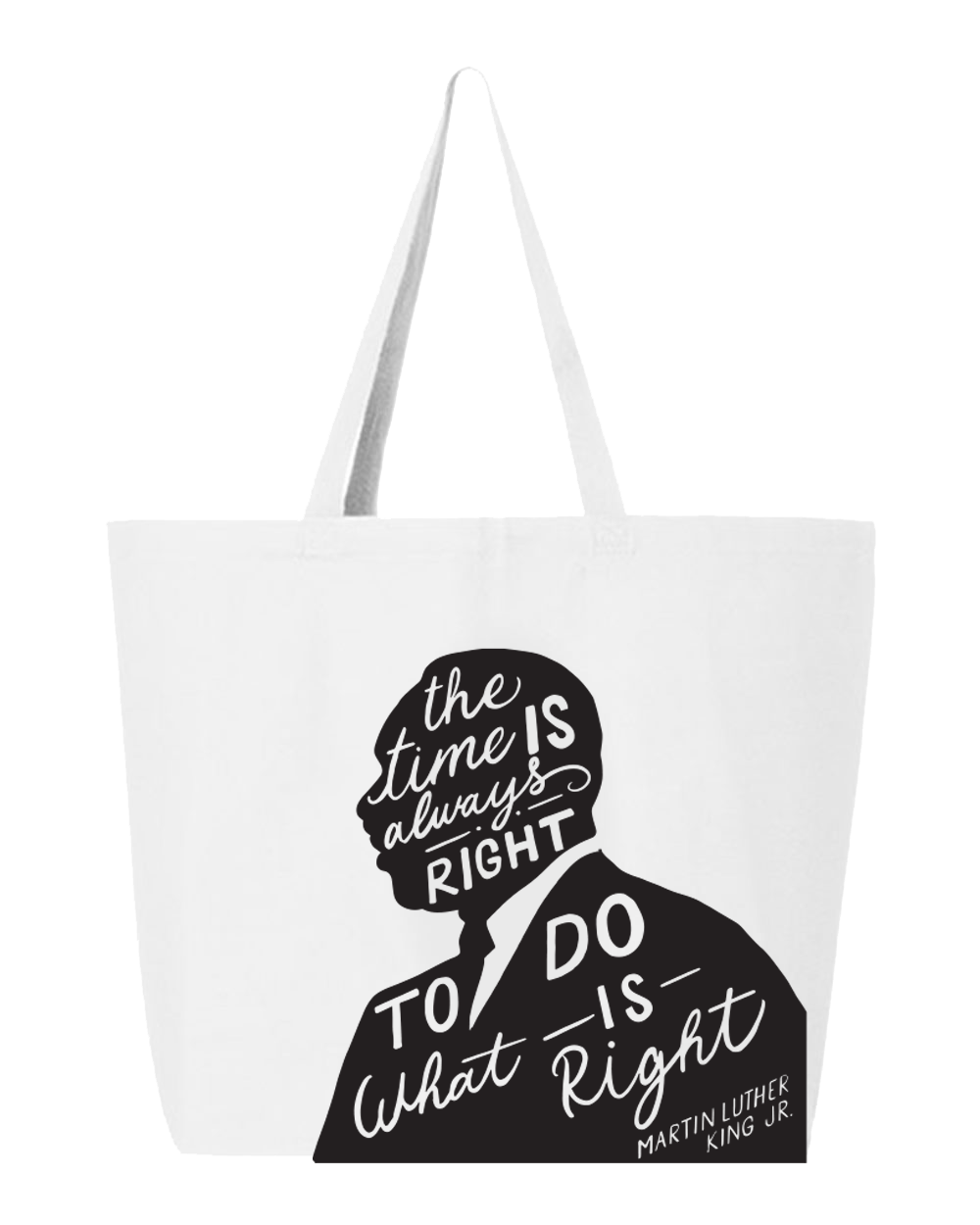 "Broome MLK Jr Commission ""Do the Right Thing"" Tote"