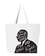 "Load image into Gallery viewer, Broome MLK Jr Commission ""Do the Right Thing"" Tote"