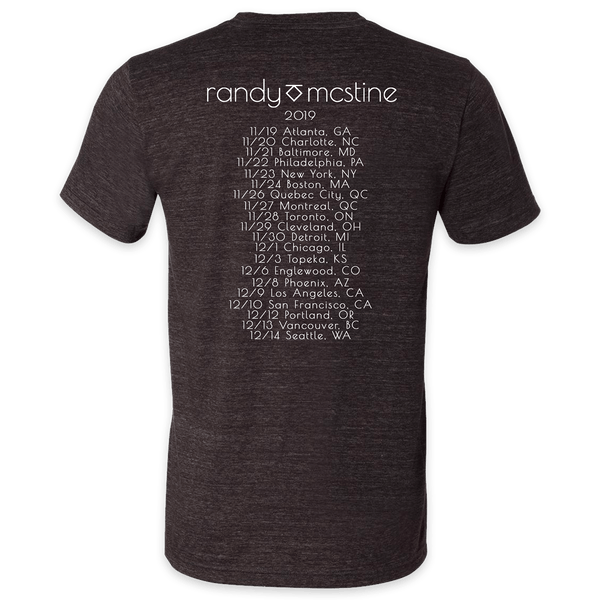 🎸Official Randy McStine 2019 Tour Shirt! 🎸