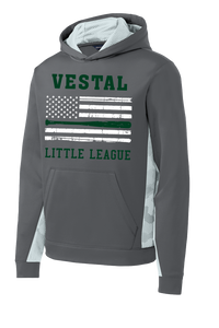 Vestal Little League Youth American Flag Hoodie