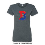 Load image into Gallery viewer, Binghamton High School Grey Patriots/ Proud  Fitted Tee
