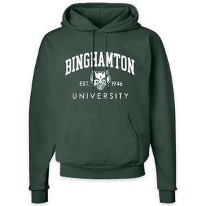 New! Binghamton University Bearcat Pullover Hoodie