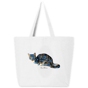 Anne Williams Art- Lazer Cat Tote