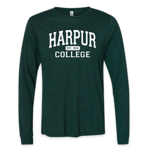 Harpur College Nostalgia Long Sleeve in Green!