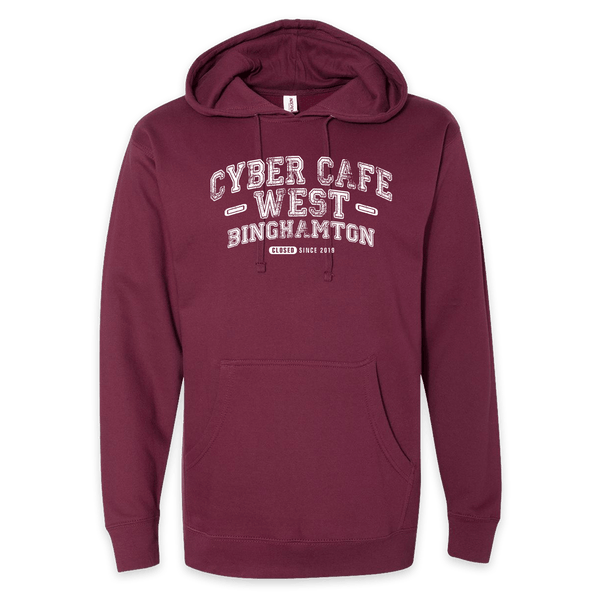 ☕ Cyber Cafe hoodie!
