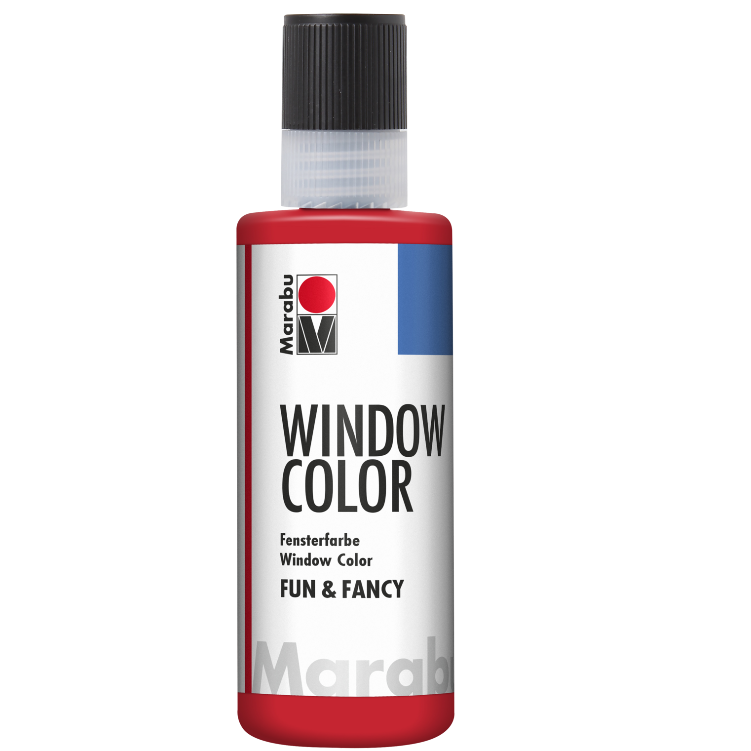 Marabu Window Color fun & fancy, Kirschrot 031, 80 ml