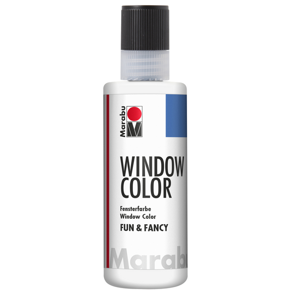 Marabu Window Color fun & fancy, Weiß 070, 80 ml