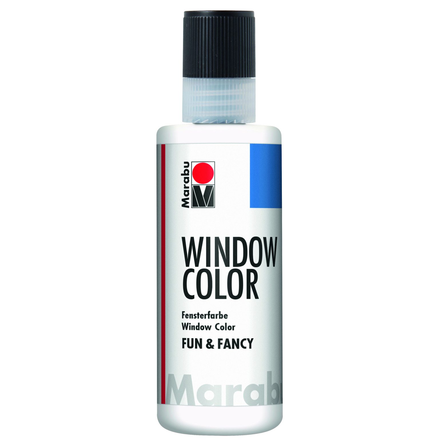 Marabu Window Color fun & fancy, Kristallklar 101, 80 ml