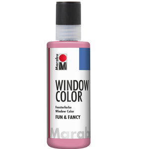 Marabu Window Color fun & fancy, Hellrosa 236, 80 ml