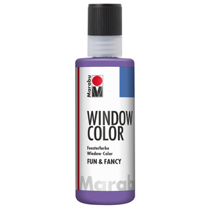 Marabu Window Color fun & fancy, Lavendel 007, 80 ml