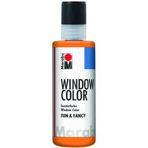 Marabu Window Color fun & fancy, Orange 013, 80 ml