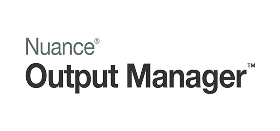 Nuance Output Manager