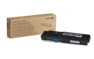 P6600_WC6605 - Metered Cyan Toner Cart. (11,5k)