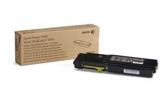 P6600_WC6605 - Metered Yellow Toner Cart.  (11k)