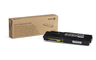 WC6655 - Metered Yellow Toner Cart. (11.5K)