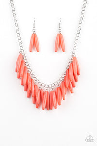 Paparazzi Full Of Flavor - Orange Necklace - Be Adored Jewelry