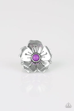 Paparazzi Boho Blossom - Purple Ring - Be Adored Jewelry