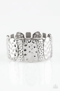 Paparazzi Cave Cache - Silver Bracelet - Be Adored Jewelry