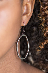 Paparazzi Eco Chic - Black Earring - Be Adored Jewelry