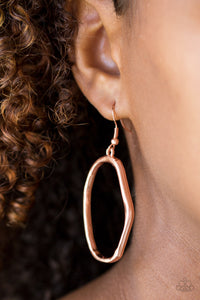Paparazzi Eco Chic - Copper Earring - Be Adored Jewelry