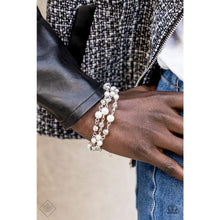 Load image into Gallery viewer, Paparazzi Every Vow and Then - White Bracelet - Be Adored Jewelry