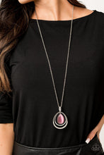 Load image into Gallery viewer, GLOW and Tell - Paparazzi Pink Necklace - Be Adored Jewelry