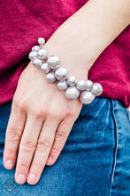 Load image into Gallery viewer, Glam The Expense - Paparazzi Silver Bracelet - Be Adored Jewelry