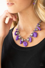 Load image into Gallery viewer, Grand Canyon Grotto - Paparazzi Purple Necklace - Be Adored Jewelry