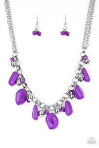 Grand Canyon Grotto - Paparazzi Purple Necklace - Be Adored Jewelry