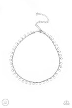 Load image into Gallery viewer, Be Adored Jewelry Minimalist Magic - Silver Paparazzi Choker Necklace