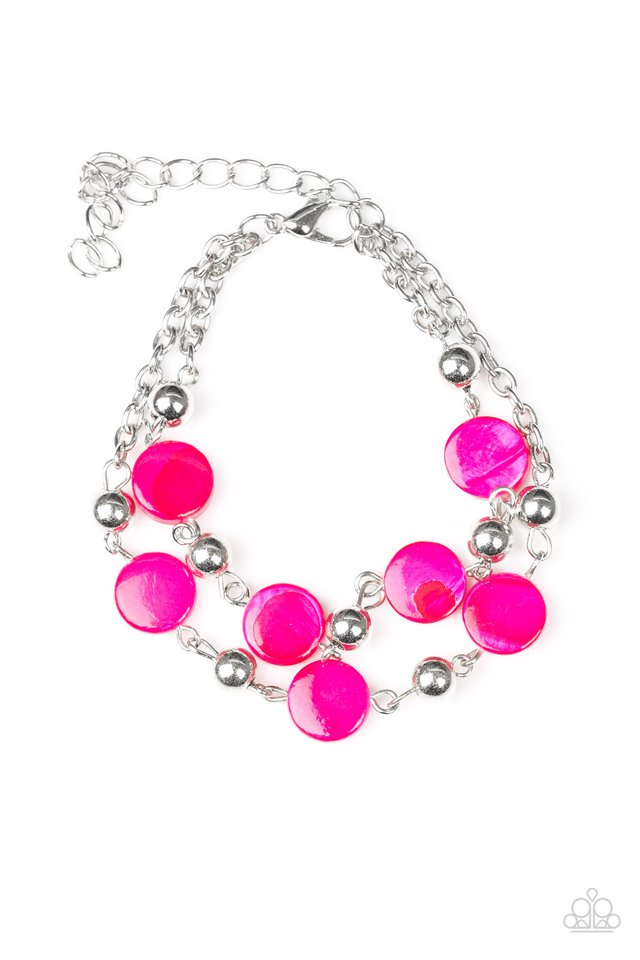 Paparazzi Accessories One BAY At A Time - Pink Bracelet - Be Adored Jewelry