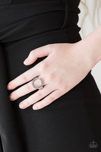 Paparazzi Accessories One GLAM Band - Silver Ring - Be Adored Jewelry