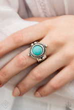 Load image into Gallery viewer, Paparazzi Accessories Prone to Wander - Blue Ring Simply Santa Fe  Fashion Fix - Be Adored Jewelry