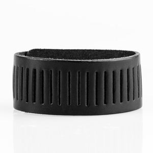 Paparazzi Accessories Take A Drive - Black Urban Bracelet - Be Adored Jewelry